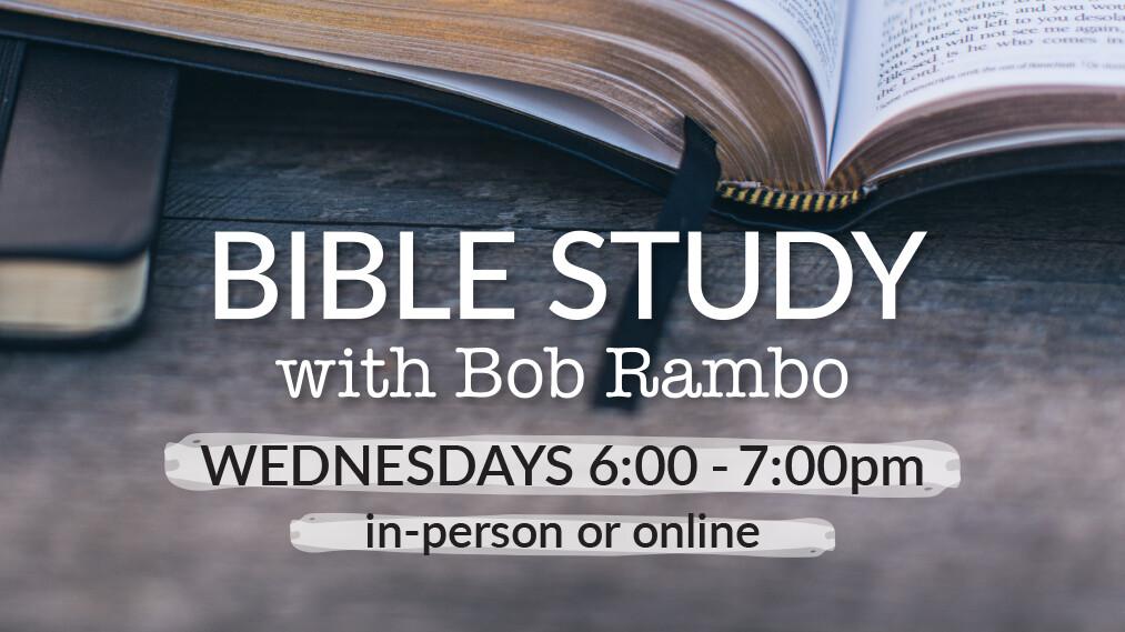 Adult Bible Study - Bob Rambo